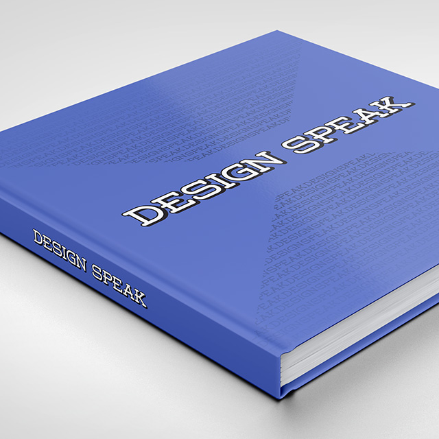 JCCC Design Speak Book Cover